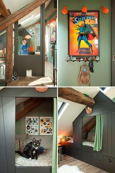super fun kid's room in interior designer isabelle juy's paris apartment