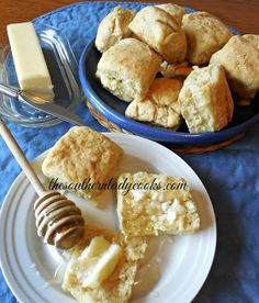 This recipe for Beer Biscuits is fun to make and the yeast in the beer makes the biscuits rise up. I cut these out with a square cookie cutter. They are light and fluffy and would be wonderful for …
