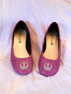 CHOOSE ANY COLORS- Rebel Star Wars Glitter Shoes. $70.00, via Etsy.