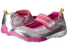 Stride Rite SRT PS Clover (Toddler/Little Kid) Silver/Magenta - Zappos.com Free Shipping BOTH Ways