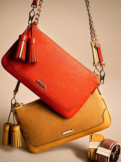 Clutch bags and cuffs in warm autumnal hues from Burberry for A/W13