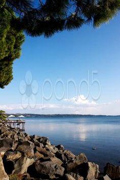 view of the lake - Stock Photo | by eZeePicsStudio
