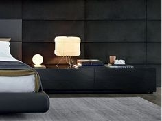 Dream Bed by Marcel Wanders for Poliform Bedside Table Design, Bedside Tables, Outdoor Cushions And Pillows, Dream Night, Dreams Beds, Drawer Design, Contemporary Kitchen Design, Night Table, Italian Furniture