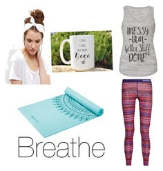 """Yoga"" by miaaking on Polyvore featuring NIKE and New Look"