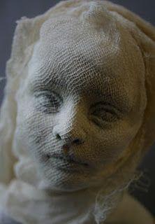 Doll sculpture in progress.