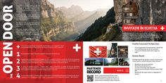 Toud made the brochures for The Open Door contest with prizes consisting in trips to Switzerland Door Opener, Brochures, Brochure Design, Switzerland, Magazines, Catalog, Trips, Doors, Create