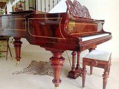 Bluthner Grand Piano 1905  http://pinterest.com/cameronpiano