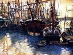 Ships and Boats John Singer Sargent - circa 1879