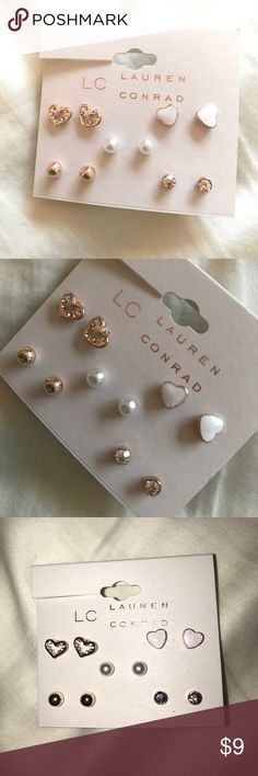 NEW Lauren Conrad Earrings Beautiful earring set, new!! WILLING TO REDUCE PRICE LC Lauren Conrad Jewelry Earrings