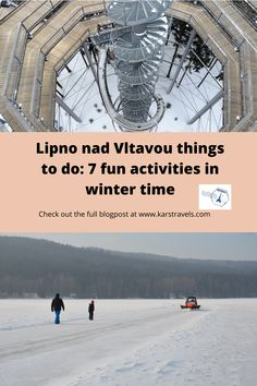Highlighted are 7 fun winter activities which you can do in Lipno nad Vltavou. Lipno nad Vltavou things to do with kids in Czechia. Bucket List Europe, Amazing Destinations, Travel Destinations, Winter Destinations, Fun Winter Activities, Lake Resort, European Travel, Travel Europe, Time Travel