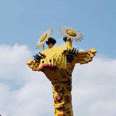 amazing lego giraffe