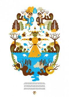 Marzanna Śmierteczka - wall-being Totoro, Wall Design, Mythology, Folk, Playing Cards, History, Illustration, Projects, Poster