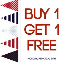Watch the Parade and Grab some Fro yo and Ice cream on MONDAY! Happy Memorial Day! #buy1get1 #froyo #icecream #memorialday #parade #chappaqua #10514 #HallofScoops