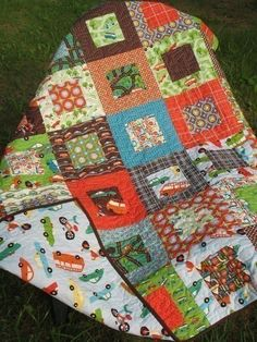 Simple, but pretty quilt pattern.