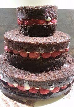 Montage du gâteau...