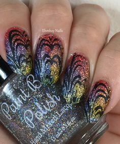 ehmkay nails: Paint Box Polish Westerosi Collection Nail Art with Born Pretty…