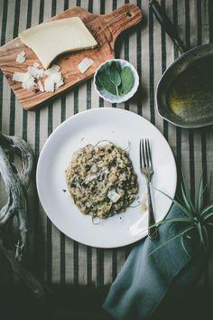 Wild Mushroom Risotto / jenn elliott blake
