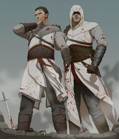 Assassin's Creed Revelations, Altair and his oldest son Darim