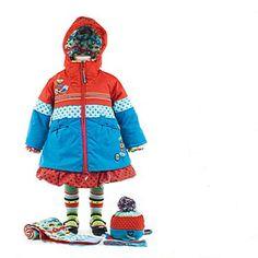 Cute girls winter coat Deux par Deux