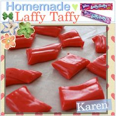 Homemade Laffy Taffy <3, created by every-girl-has-a-tip on Polyvore
