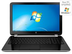 Lowest Price Ever on the HP Pavilion Notebook PC 15t-n200 with Windows 7! Under $580