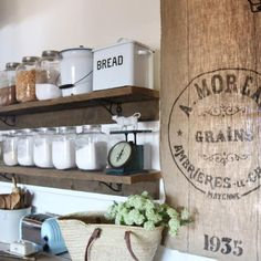 """This Farmhouse Chicken Feeder Plate Rack makes a great display for all your seasonal plates! Super cute on a hutch, side board or buffet! Aged Paint Finish 30"""" x 5"""" x 8"""""""