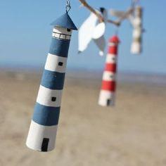 Lighthouse & Seagull Garland | Garland Decoration | Coastal Decor 12.95#s