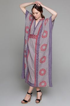 kinda feeling the need for a caftan. Butterfly Caftan | Emerson Fry