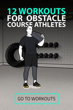 This training series is great for those of you that do or are planning to do a race like Tough Mudder or Spartan Race.Even if you don't partake in these events, you may find the workouts useful, challenging and dare I say fun. Tough Mudder Training, Obstacle Course Training, Hiit Workouts For Men, Amrap Workout, Conditioning Workouts, Early Morning Workouts, Body Weight Training, Spartan Race, High Intensity Interval Training