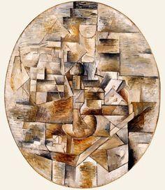 Castiçal e o Jogo de Cartas (1910). Georges Braque Pablo Picasso, Picasso And Braque, Henri Matisse, Andre Derain, Paul Gauguin, Georges Braque Cubism, Cubist Artists, European Paintings, Metropolitan Museum