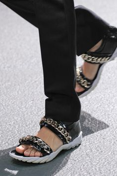 Givenchy menswear spring 2013 sandals
