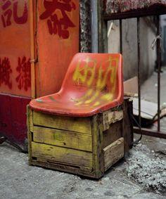Bastard Chairs by Michael Wolf (Works That Work magazine)