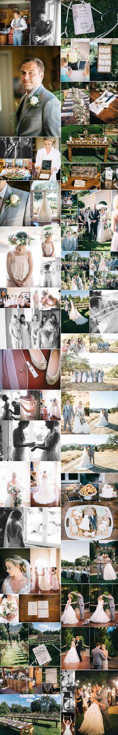 Elegant Backyard Wedding in Gilroy | Whittaker Portraits