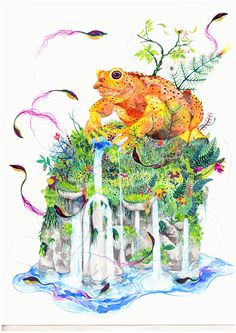 """Il Maestro dormiente"" - 42x30cm - watercolor - 2013"