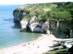 Yorkshire coastline...