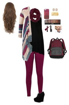 """""""Here comes fall"""" by kylietownsend on Polyvore featuring Great Plains, WearAll, maurices, Forever Link, Victoria's Secret, Athleta, Jigsaw, Anabela Chan, Charlotte Russe and alfa.K"""