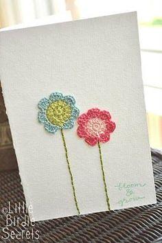 siete pétalos de flores crochet patrón   Little Secrets Birdie
