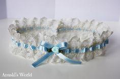 Liga de novia azul clarito - Anuski´s World                              …
