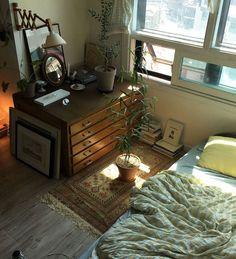 Room Ideas Bedroom, Bedroom Decor, Indie Room, Pretty Room, Cozy Room, Aesthetic Bedroom, Dream Rooms, My New Room, House Rooms
