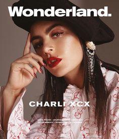 Charli XCX for Wonderland Magazine Selah Marley, Boom Clap, Sofia Richie, Jourdan Dunn, Teyana Taylor, Fashion Advertising, Charli Xcx, Lorde, Concert Posters