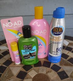 Essential Sun Care Products for Summer #beautybrite