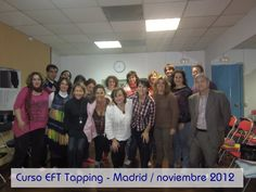 #Curso #EFT #Tapping Madrid/ Noviembre 2012