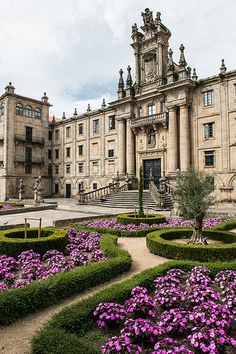 "dustjacketattic: "" Santiago de Compostela, Galicia, Spain by Flash Parker "" Places Around The World, The Places Youll Go, Places To See, Around The Worlds, Beautiful Castles, Beautiful World, Beautiful Places, Madrid, Spain And Portugal"