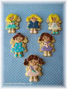 Galletas niña 2 by La Casita de Azúcar posted on Flickr