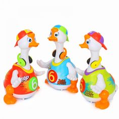 1 pcs electronic pets:Intelligent Hip Pop Dance Read Tell Story Interactive Swing Goose Musical Educational Toys for children Toys R Us, Kids Toys, Hip Pop, Dance Routines, Song Of Style, Light Music, Electronic Toys, Natural Disasters, Educational Toys