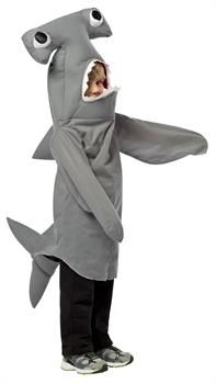 Shark Full Head Mask Grey EVA Adult Mens World Book Day Week Fancy Dress