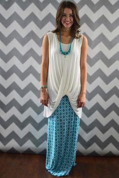 Paradise Maxi Skirt – The ZigZag Stripe