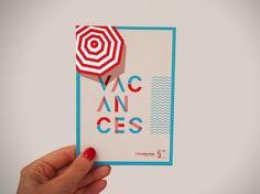 Une identité graphique et estivale made in KDXK pour les 5 ans de Rhônexpress - cartes postales, affiches, presse et street marketing