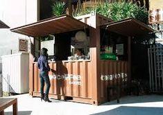 Resultado de imagen para container coffee store design