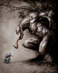 Venom VS Stich